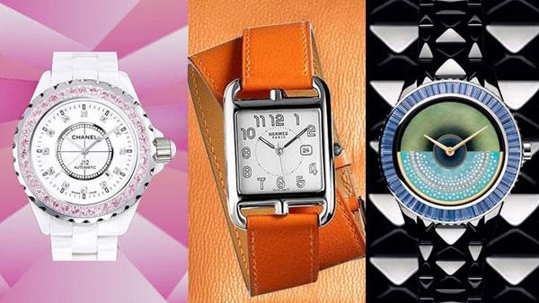 像设计服装一样设计腕表