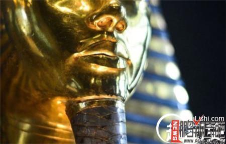 资讯生活【图】揭开古埃及法老图坦卡蒙黄金面具破损之谜