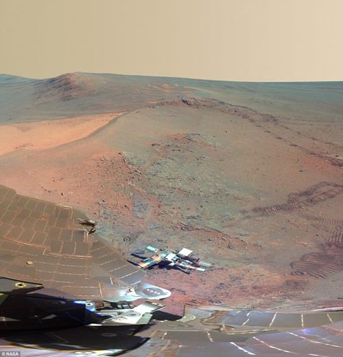 360度细看火星最壮观的全景画面