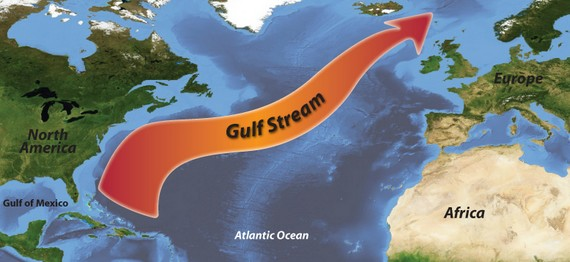 世界上最大的洋流发源于墨西哥湾