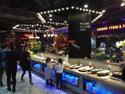 吉布鲁牛排海鲜自助餐厅加盟费要多少钱